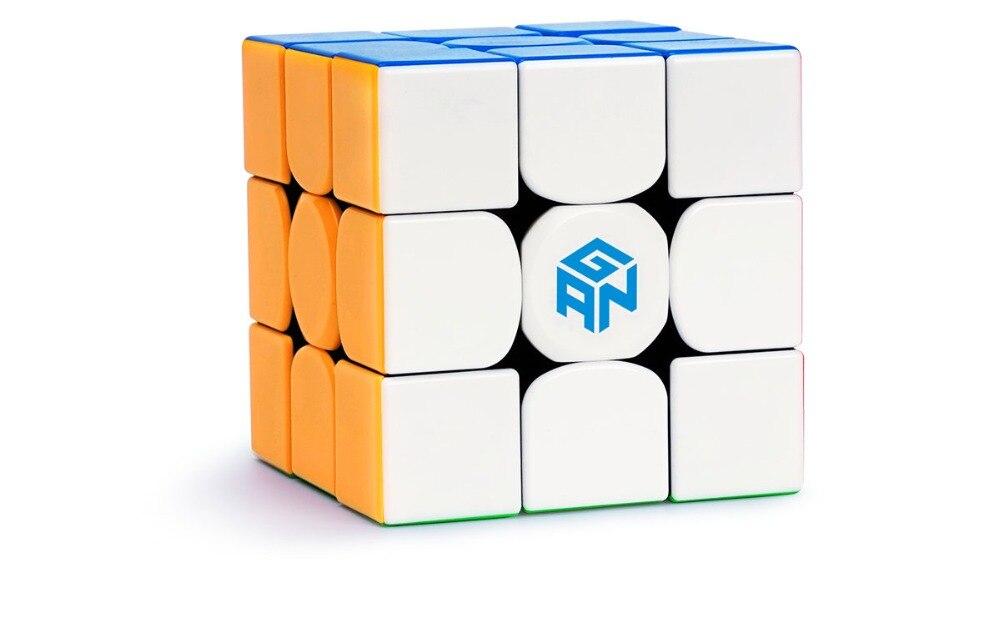 CuberSpeed Gans 354 M sans bâton 3x3 cube de vitesse GAN 354 M 3x3x3 cube de vitesse magnétique