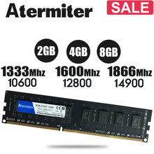 New 8GB DDR3 PC3 1600Mhz 1866Mhz 1333MHz RAM Desktop PC DIMM Memory RAM 240 pins For intel amd 4GB 8G 4G radiator 1866 1600 1333(China)