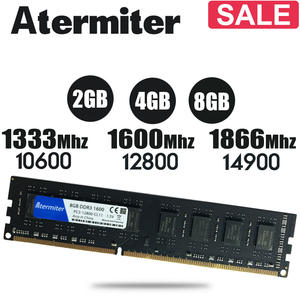 New 8GB DDR3 PC3 1600Mhz 1866Mhz 1333MHz RAM Desktop PC DIMM Memory RAM 240 pins For
