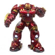 a8bd7c926b9 Homem De Ferro Hulkbuster MK44 Ação Figura 1 6 scale pintada figura Big  Size Light Ver. Hulkbuster Homem De Ferro PVC figura de .