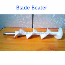 Beater blades of soft ice cream machine_Replacement Spare Parts of ice cream machine single front head panel old version of ice cream machine with 1 nozzle replacement spare part of soft ice cream machine
