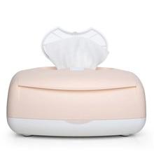 Диспенсер для влажных полотенец детские салфетки нагреватель термостат теплый влажный салфетки чехол Салфетка теплоизоляция коробка Отопление влажное полотенце