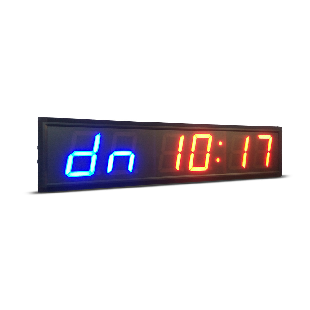 Il trasporto libero 4 pollici GYM Crossfit Timer LED Intervallo Timer Tempo di Formazione E di Riposo Orario Alternativo CountdownCount Come UN cronometro