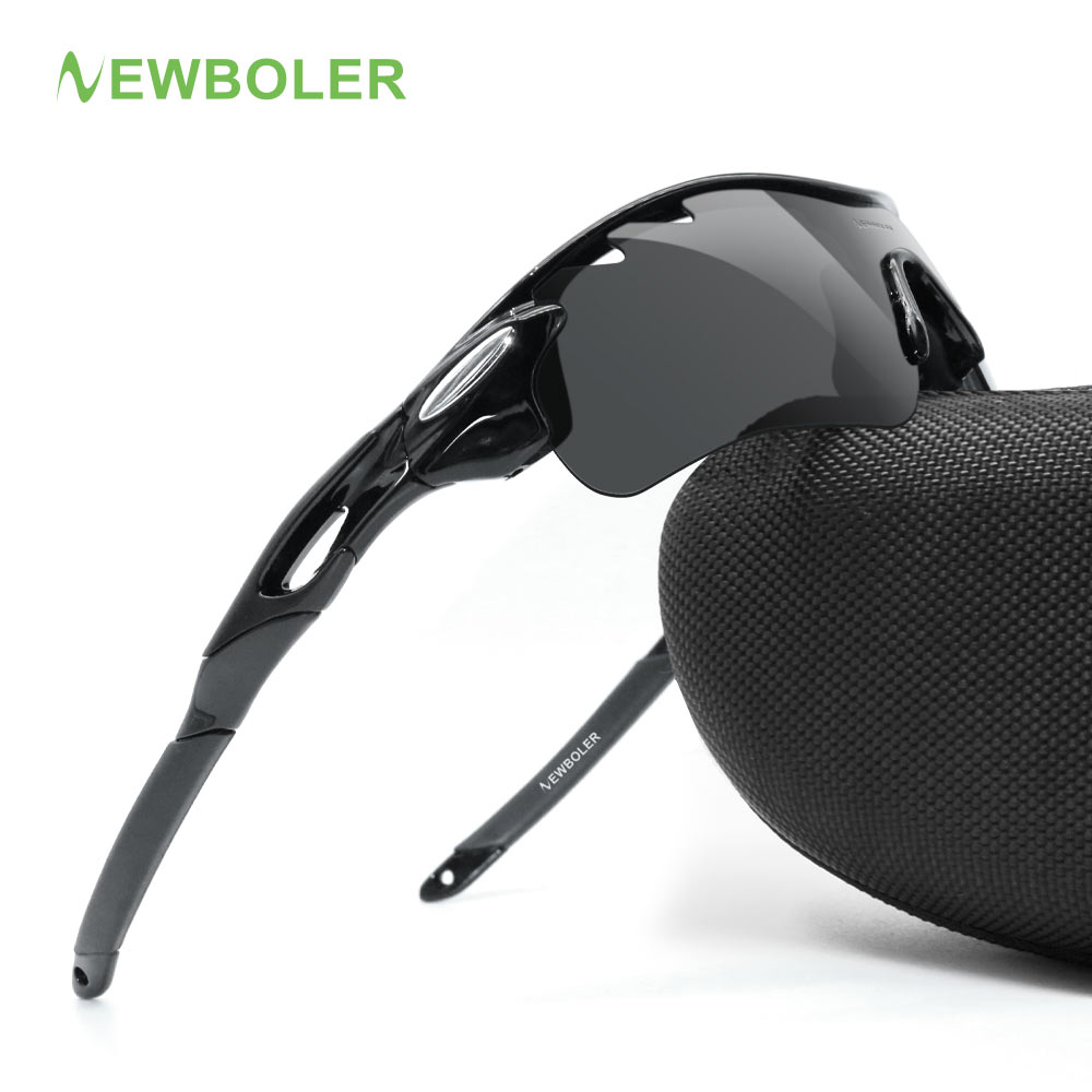 NEWBOLER Professional Fishing Glasses Polarized glasse Men Women Climbing Eyewear Hiking Sunglasses Outdoor Sport Goggles 3 Lens