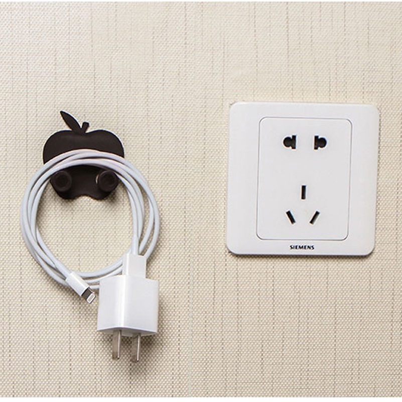 050 Creative hook wall socket power line receptacle multifunctional plug hook rack 4 5 2 5cm in Hooks Rails from Home Garden