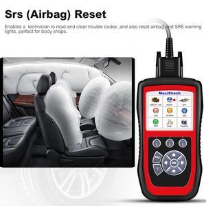 Image 4 - Autel MaxiCheck Pro herramienta de diagnóstico de coche, escáner OBD2, EPB/ABS/SRS/SAS/Airbag/reinicio del servicio de aceite/BMS/DPF, launch x431 elm327