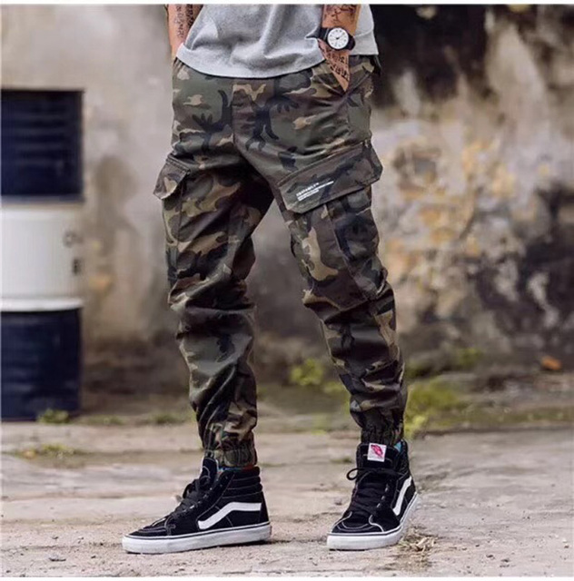 JACK CONY Men's Military Cargo Pants 2 Solid Colors