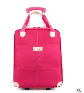 Image 3 - Новинка 2017, дорожная сумка на колесиках для женщин и мужчин, унисекс, сумка для багажа на колесах, дорожная сумка из ткани Оксфорд, дорожная сумка на колесах