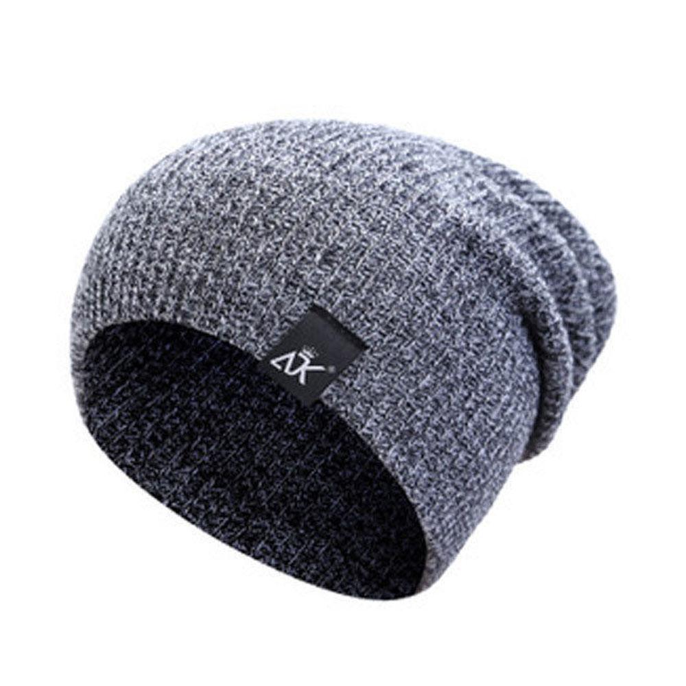Bonnets laine Chapeaux D'hiver Ski Sports Tricot Unisexe 4