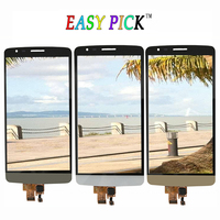 Zwart Wit Goud Voor LG G3 Stylus D690 D690N D693n D693 Touchscreen Lcd-scherm + Frame