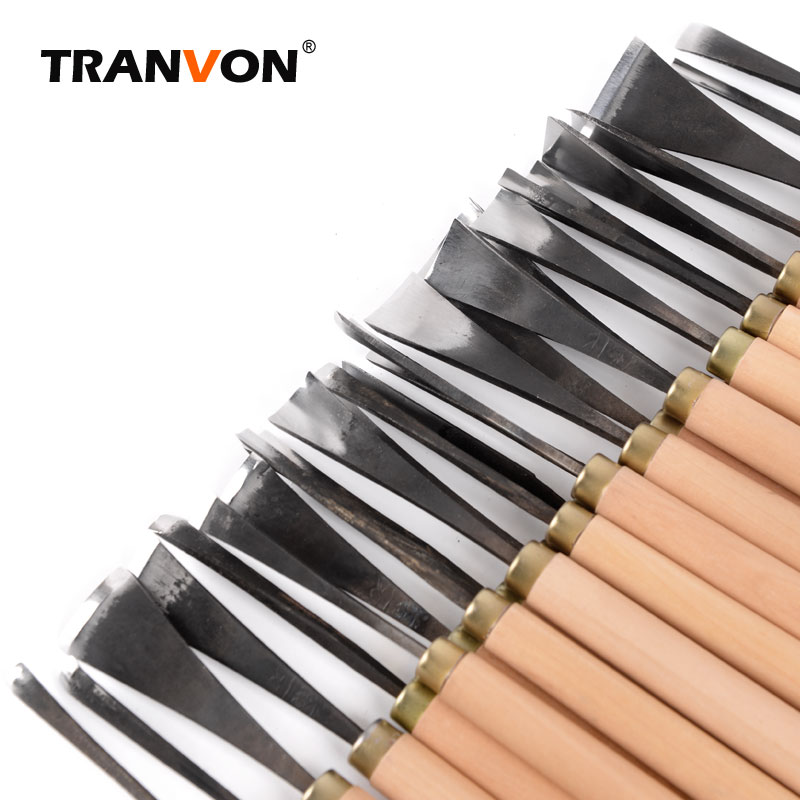 12/31pcs Refinish Carving Knife Combination Set Root Carving Tools Wood Chisel Woodworking Hand DIY Tools