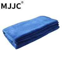 MJJC 60*120 cm Làm Sạch Xe Sấy Vải Viền Xe Vải Chăm Sóc Chi Tiết Khăn Siêu Thấm Khăn Car Wash Tấm khăn