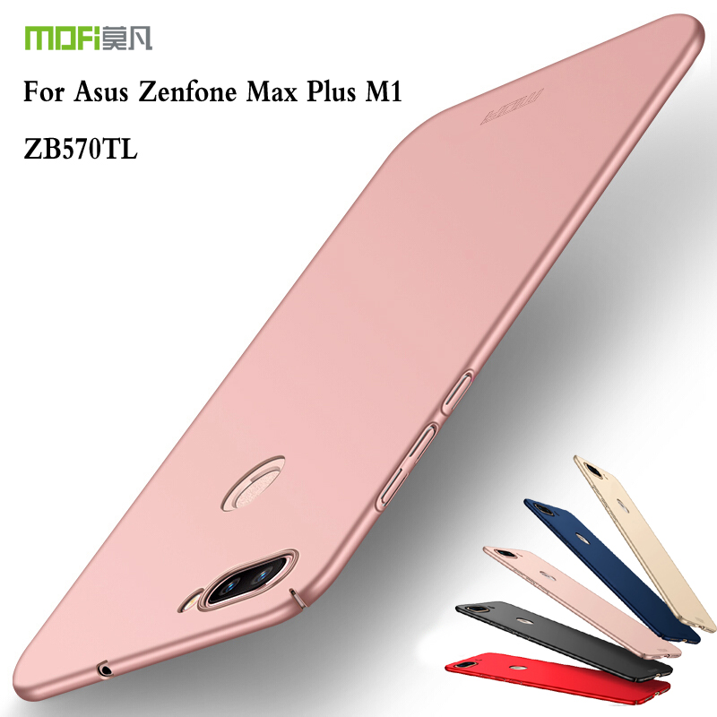 Mofi For Asus Zenfone Max Plus M1 ZB570TL Cover Case PC Hard Back Cover For Asus Zenfone Max Plus M1 ZB570TL Phone Protective