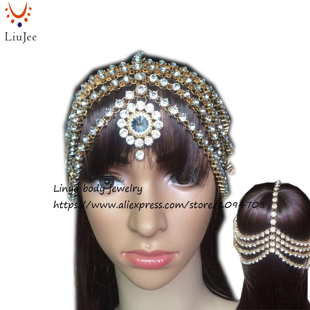 Full Diamante Kundan Matha Patti Wedding Bridal Goddess Boho Head Chain Hair Jewelry Head Piece Bollywood Wedding HC-331 бюстгальтер patti belladonna белый 80c ru