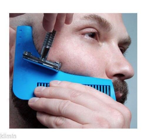 Формирование Инструмент Секс Мужчина Джентльмен борода Борода Отделка Шаблон стрижка волос отделки формования шаблон борода моделирование инструменты