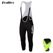 Zealtoo Cycling Pants Men Spring Summer Autumn Long Full Length Padded Bike Pad Road MTB Bicycle Ropa Ciclismo