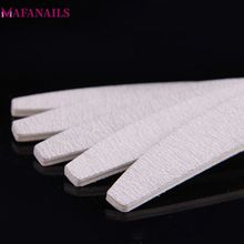 50Pcs/lot Professional Nail Files 150/150 Sanding & Buffer Disposable 100/180 UV Gel Salon Manicure Pedicure Tools 03