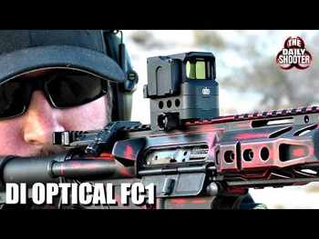 DI Optical FC1 Red Dot Sight Reflex Sight Holographic Sight for 20mm Rail (Red)