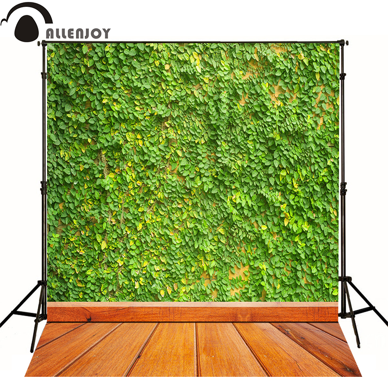 Allenjoy photography backdrops for sale Natural green vines kid vinyl exquisite wall Professional photographic background studio allenjoy photography backdrops for sale natural dark wood green vine kids photocall professional photographic background studio