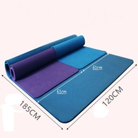 185*120*1.5CM Thickening & Widening Yoga Mat YHSBUY 2018 New NBR Workout Mat Non slip Sports Pad With Bag,HB072