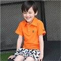 Детская одежда Мальчиков верхняя одежда Майка Топы мальчиков Футболки подростковые дети Рубашки Летние мальчики Футболка Enfant Fille бесплатная доставка
