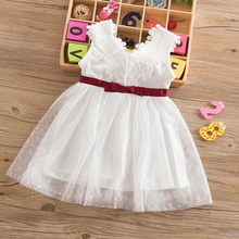 New Brand Baby Girl Fancy Prom Party Dress Infant Princess Costume For Newborn Bebes 1 Year Birthday Dress Toddler Girls Clothes