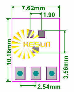 20 ADET SOT23 SOT23-3 dönüş SIP3 DIP 0.95 MM Pitch Zener Diyot MOS Transistör IC adaptör soketi/adaptör plakası pcb konektörü