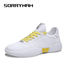 Mens Sneakers Lightweight Casual Walking Shoes Breathable Mesh Comfortable Lace Up Sorrynam