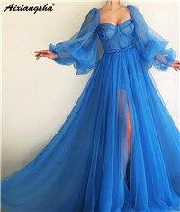 Vestidos de noite longos 2019 lindo vestido