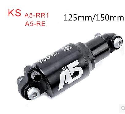 Kind shock ks A5 RR1 RE soft car adjustable shock absorber device 125mm 150MM bike rear