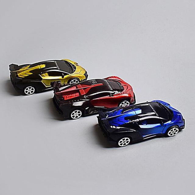 1pcs New Pattern Children Toy Car Mini Car Inertia Hand Push Car