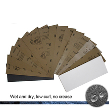 50PCS 230*93 mm Sanding Paper Sandpaper 320-10000 Grit Wood Polishing Tools Wet And Dry Sand Grinding Abrasive