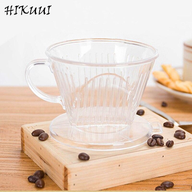 Маленький пластиковый конус, многоразовый фильтр для кофе, сетчатый фильтр для капельного типа 102