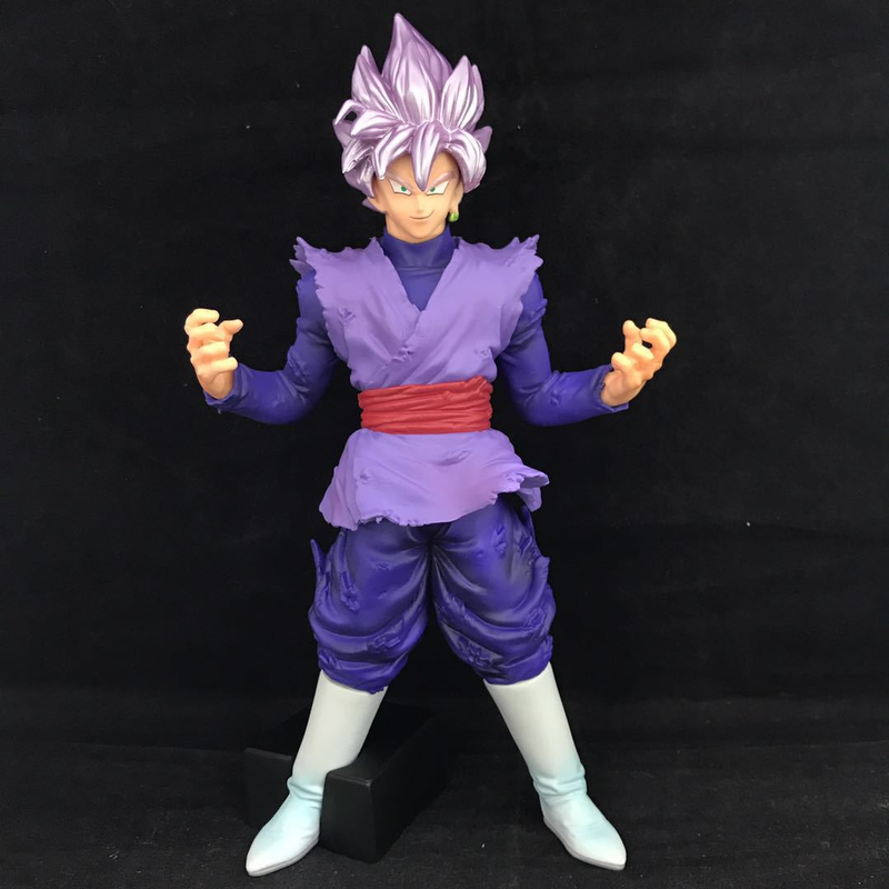 Dragon Ball Super Black Goku Action Figures 20cm Son Goku God Blue Figurine Rose Goku Dragonball Z Model Collection Toys dragon ball figurine son goku children styling action figures doll pvc model toys free shipping