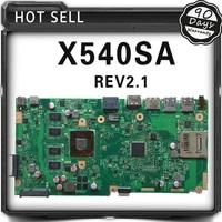 X540SA For ASUS X540S X540SA Laptop Motherboard X540SA Mainboard REV2 1 Processor Onboard 100 Fully Tested