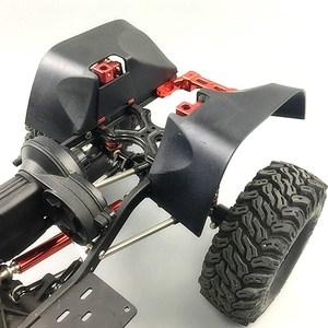 Image 3 - Garde boue/garde boue en Nylon de course KYX pour voiture sur chenilles RC Axial SCX10 II Wrangler corps dur 313mm