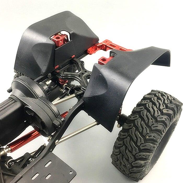 Image 3 - KYX Racing Nylon Fender/Mud Guard for RC Crawler Car Axial SCX10 II Wrangler Hard Body 313mmParts & Accessories   -