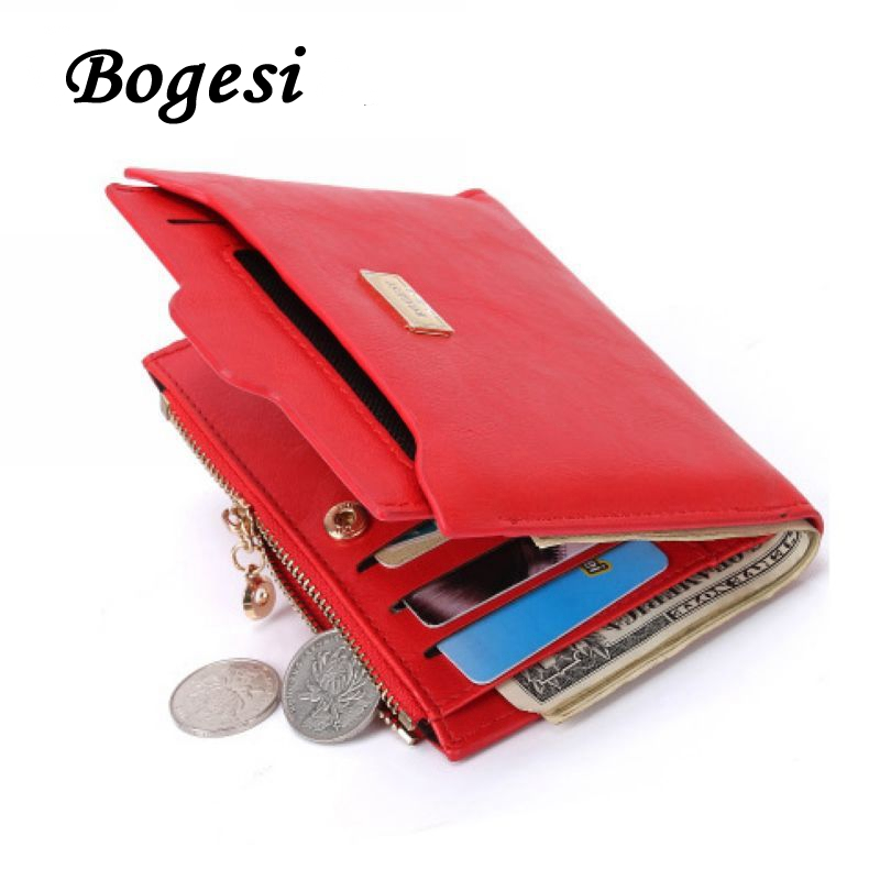 2017 New Brand Fashion Zipper PU Leather Purse Wallet Coin Card Holder Photo Holder Female Purse Wallets For Women DB5700