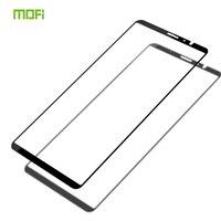 Para meizu nota 8 vidro temperado mofi cobertura de tela cheia vidro temperado para meizu nota 8 filme protetor de tela para meizu nota 8