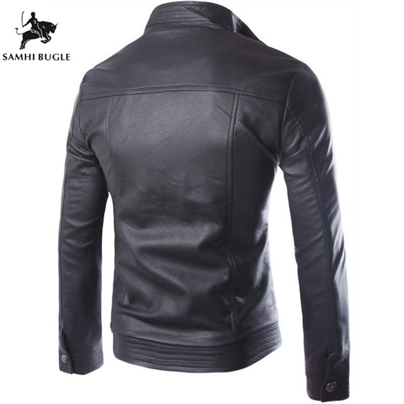 High Jacket Trend Leather