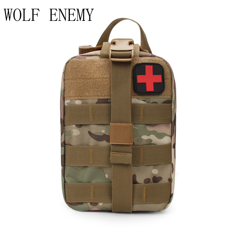 Открытый Молл Системы медицинские аксессуар сумку тактический ЕМТ первой медицинской помощи IFAK сумка военно-pack черный/Армейский зеленый/г...