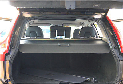 Black Retractable Rear Cargo Trunk Cover for VOLVO XC60 2009 2015