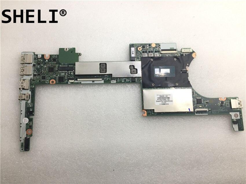 for HP X360 G1 Motherboard 808445-601 DA0Y0DMBAF0 With SR23V I7-5600U