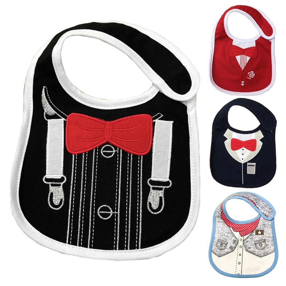 Reusable Washable Cotton Baby Bibs Burp Cloth Print Triangle Baby Bibs Cotton Adjustable Baby Meal Bib Infant Bib DS19 цена 2017