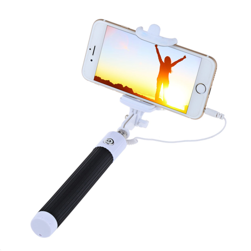 cheapest jack cable selfie stick connect rc selfie stretch monopod camera shutter with. Black Bedroom Furniture Sets. Home Design Ideas
