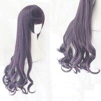 Card Captor Sakura Wig Cosplay CLEAR CARD Tomoyo Daidouji Cosplay Hair Synthetic Wig for Adult Halloween