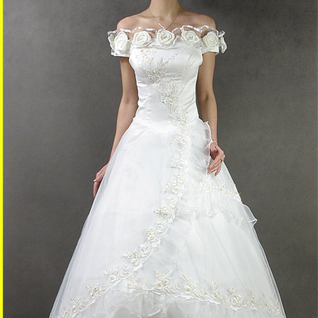 Hot Sale! 2013 New Princess Lace Roses A-Line Wedding Dress Wedding Gowns Bridal Dress