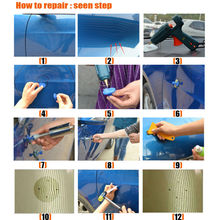 Mega Package Paintless Dent Removal Tools – Brand New Kit Line Board Car Glue Gun for Auto Body Shop