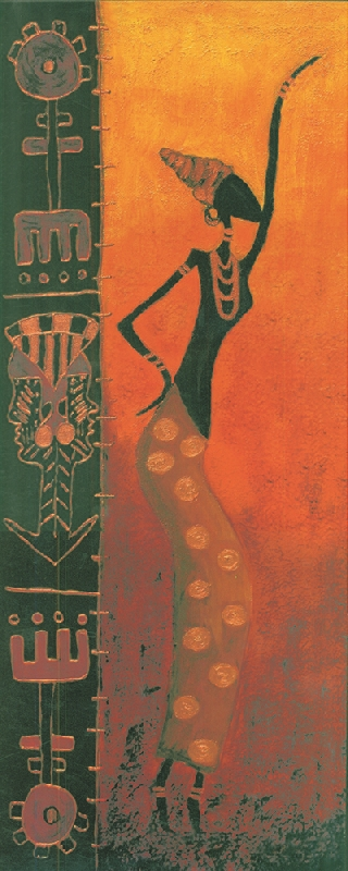 Classical Decoration Wall Art Beautiful Abstract African Woman