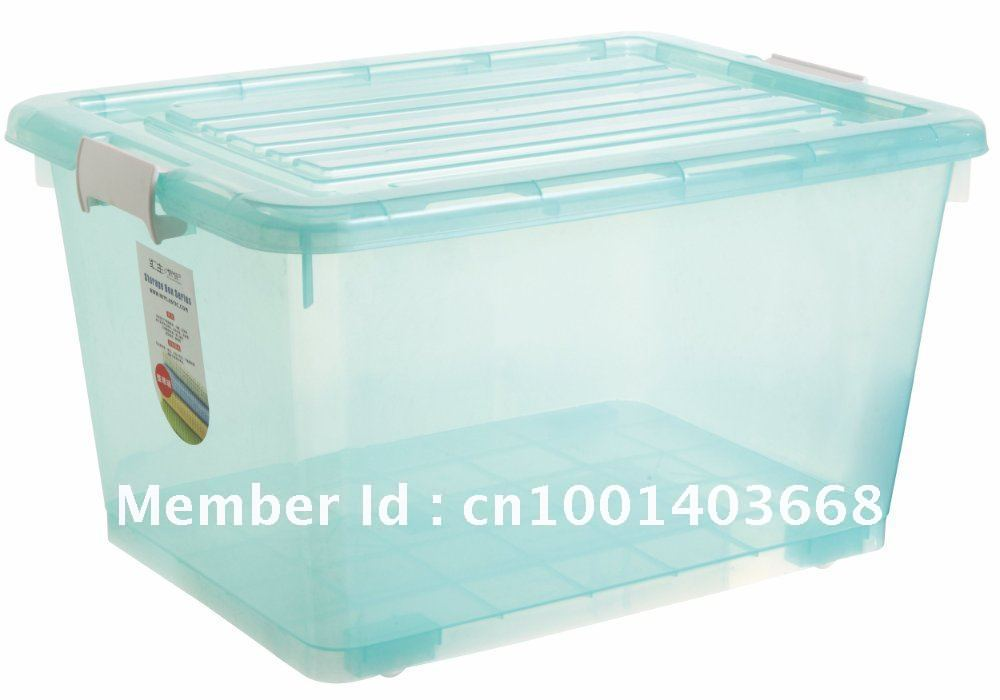 Hot Sale large Plastic Storage Container with Wheels-in Storage Boxes u0026 Bins from Home u0026 Garden on Aliexpress.com | Alibaba Group  sc 1 st  AliExpress.com & Hot Sale large Plastic Storage Container with Wheels-in Storage ...